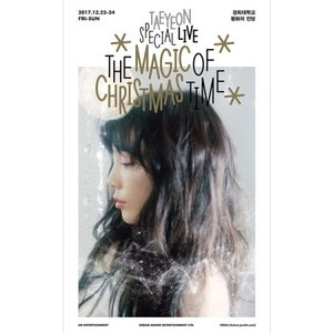 【DVD ALL】TAE YEON SPECIAL LIVE THE MAGIC OF CHRISTMAS TIME DVD テヨン クリスマス スペシャル 【レビューで生写真5枚 送料無料】 shop-11