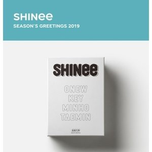 SHINEE 2019 SEASONS GREETINGS シャイニー 2019年 カレンダー【レビューで生写真5枚】【送料無料】 shop-11