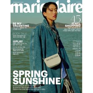 【先予約】2019年 2月号 marieclaire SHINEE KEY シャイニー キー 画報インタビュー 韓国 雑誌 マガジン Korean Magazine【レビューで生写真5枚】|shop-11
