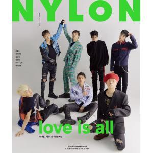 2019年 2月号 NYLON iKON / G FRIEND 画報インタビュー 韓国 雑誌 マガジン Korean Magazine【レビューで生写真5枚】|shop-11