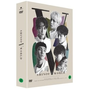 【ALL】【日本語字幕】SHINEE WORLD V IN SEOUL DVD シャイニー ワールド 5 【JONG HYUN出演】【先着ポスター】【レビューで生写真5枚】【送料無料】