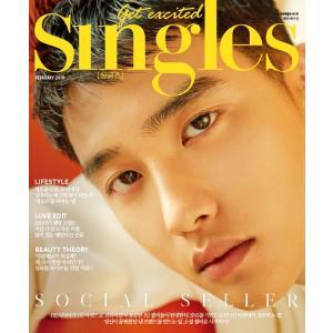 2019年 2月号 SINGLES EXO DO ド ギョンス 画報インタビュー 韓国 雑誌 マガジン Korean Magazine【レビューで生写真5枚】|shop-11