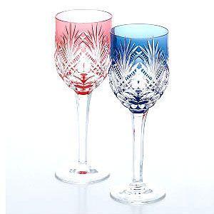 カガミクリスタル ペアワイングラス カガミクリスタル|shop-adex