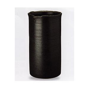 傘立て 信楽焼 ブラックライン傘立て|shop-adex