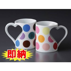 有田焼 ハート型マグカップマーブル マグカップ |shop-adex