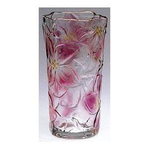 花瓶 ガラス・クリスタル花器 花りん(LG) 花瓶|shop-adex