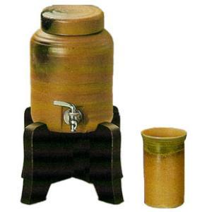 焼酎サーバー ビードロ吹焼酎サーバーセット(焼酎カップ付き) 焼酎サーバー|shop-adex