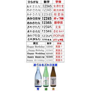 名入れ彫刻 日本酒ボトル 720ml 名入れ 日本酒 クリスマス 正月|shop-adex|05