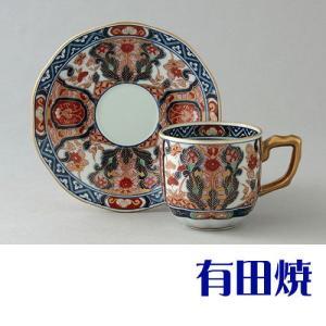コーヒーカップ 有田焼 弥左衛門窯 金彩木甲草花 コーヒーカップ|shop-adex