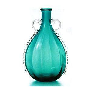 花瓶 ガラス・クリスタル花器 エメラルドしずく花器 花瓶|shop-adex
