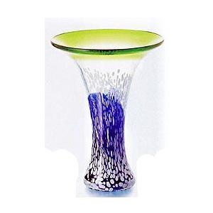 ガラス・クリスタル花器 朝顔 花器|shop-adex