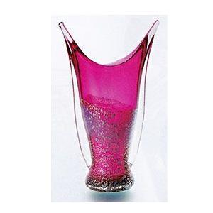 花瓶 ガラス・クリスタル花器 赤ガラスあわせ花器 花瓶|shop-adex