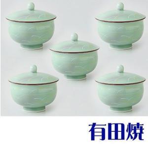 有田焼 さがの 湯呑み5客セット(フタ付汲出揃え) shop-adex