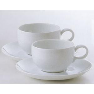 白山陶器 MAYU(まゆ) モーニングカップ&ソーサー ペアセット 白山陶器|shop-adex
