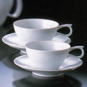 白山陶器 ティーカップ&ソーサー ゆるり ペアセット 白山陶器|shop-adex