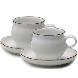白山陶器 G型デミタスカップ&ソーサー ペアセット 白山陶器|shop-adex