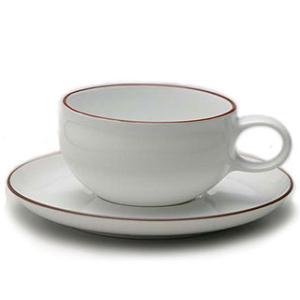 白山陶器 G型ティーカップ&ソーサー 白山陶器|shop-adex