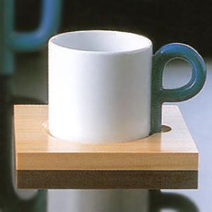 白山陶器 P型 コーヒーカップ&ソーサー 白山陶器|shop-adex