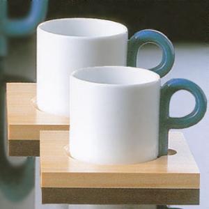 白山陶器 P型 コーヒーカップ&ソーサー ペアセット 白山陶器|shop-adex