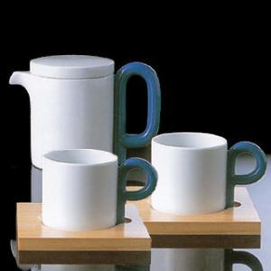 白山陶器 P型 ペアコーヒーカップ&ソーサー(P型ポット付き) 白山陶器|shop-adex