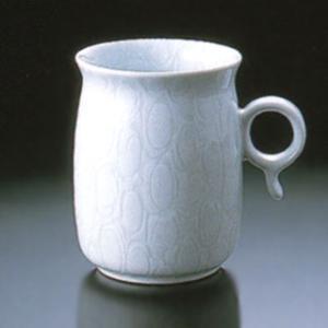 白山陶器 Q型 マグカップ ホワイト 白山陶器|shop-adex