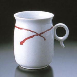 白山陶器 Q型 マグカップ 赤い糸 白山陶器|shop-adex