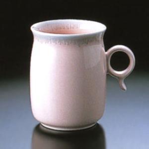白山陶器 Q型 マグカップ ピンク 白山陶器|shop-adex