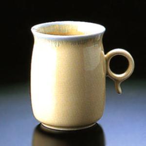 白山陶器 Q型 マグカップ イエロー 白山陶器|shop-adex