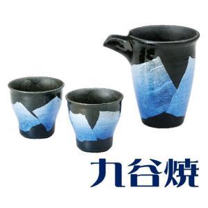 九谷焼 晩酌揃え 銀彩 酒器セット(ぐい呑み・徳利) 酒器 九谷焼 shop-adex