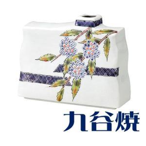九谷焼 花器 花瓶 一輪生 紫式部 花器 花瓶 九谷焼 shop-adex