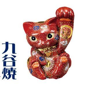 九谷焼 置物 招き猫・茶盛 九谷焼 置き物|shop-adex