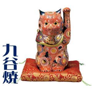 九谷焼 置物 招き猫・盛 九谷焼 置き物|shop-adex