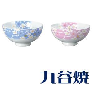 九谷焼 夫婦茶碗セット 金箔花の舞 ペアセット 九谷焼|shop-adex