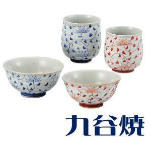 夫婦茶碗 夫婦湯飲みセット 九谷焼 唐草 夫婦湯のみ 夫婦茶碗|shop-adex