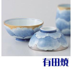 夫婦茶碗 有田焼 プラチナ牡丹 夫婦茶碗|shop-adex