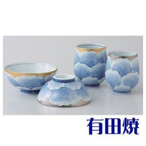 夫婦茶碗・夫婦湯飲みセット 有田焼 プラチナ牡丹 夫婦湯のみ・夫婦茶碗|shop-adex