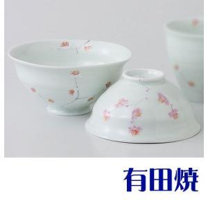 夫婦茶碗 有田焼 枝華紋 夫婦茶碗|shop-adex