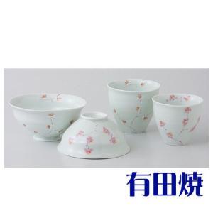 夫婦茶碗・夫婦湯飲みセット 有田焼 枝華紋 夫婦湯のみ・夫婦茶碗|shop-adex
