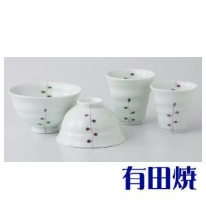 夫婦茶碗・夫婦湯飲みセット 有田焼 葉(よう) 夫婦湯のみ・夫婦茶碗|shop-adex