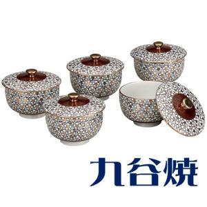 九谷焼 5客湯呑み 梅詰5客セット 湯のみ 九谷焼|shop-adex