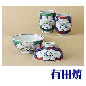 夫婦茶碗・夫婦湯飲みセット 有田焼 濃花 夫婦湯のみ・夫婦茶碗|shop-adex