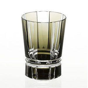 カガミクリスタル ロックグラス アンティークオリーブ カガミクリスタル|shop-adex