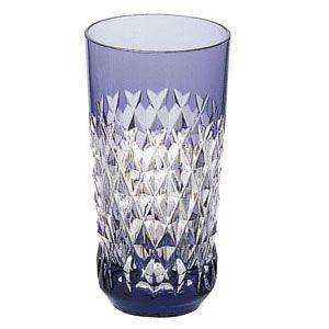 カガミクリスタル 色被せクリスタルグラス タンブラー(紫) カガミクリスタル|shop-adex
