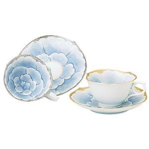 コーヒーカップ 有田焼 プラチナ牡丹 ペア珈琲碗皿 コーヒーカップ|shop-adex