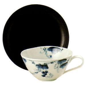 ティーカップ 有田焼 ぶどう絵 ティーカップ|shop-adex
