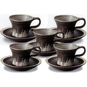 コーヒーカップ 信楽焼 樹氷 5客セット|shop-adex
