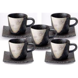 コーヒーカップ 信楽焼 紫桜 5客セット|shop-adex
