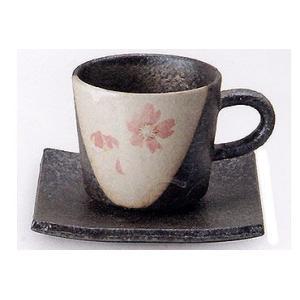 コーヒーカップ 信楽焼 桃桜 コーヒーカップ|shop-adex