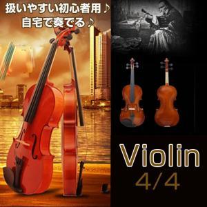 接光バイオリン 4/4バイオリン楽器 演奏 初心者 音楽 趣味 おすすめ 楽器 扱い易いバイオリン 入門用に 練習用 ◇ALW-VLN-01