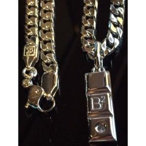 レダシルマ B2 ダイヤモンドインゴットネックレス 肩こり 血流改善 プチシルマのジュエリーコレクション 送料無料 shop-angel